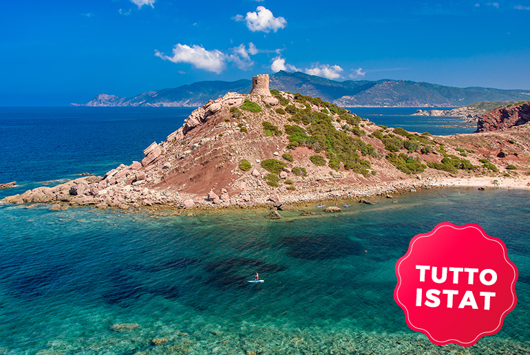 Istat Sardegna inviare le presenze dei turisti con SIRED